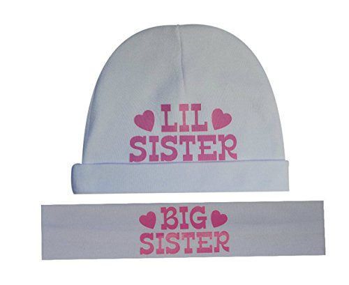 ster Matching Cotton Headband & Hat Gift Set - Funny Girl Designs ()