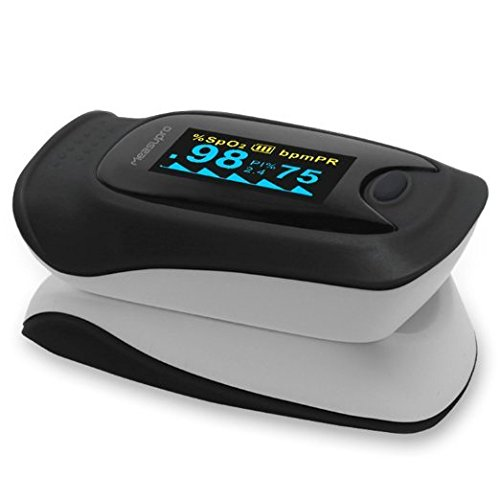 MeasuPro Instant Read Digital Pulse Oximeter, Oxygen Sensor and Pulse Rate