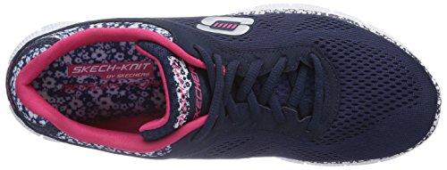 Style Nvw nbsp;Island Damen Blau Flex Appeal Skechers Sneakers tqwZRBBP