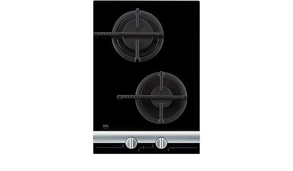 AEG FM-4300-G-an Integrado Encimera de gas Negro - Placa ...