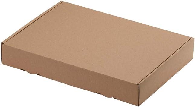 100 CAJAS DE ENVÍO MAXI 319 X 225 x 50mm DIN A4, embalaje ENVÍO Caja de cartón ondulado cartón Caja de cartón de Carta: Amazon.es: Bricolaje y herramientas