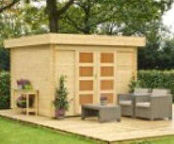 lasita/Outdoor tejado plano Casa Olga 200 Natural