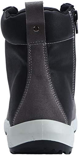 De Seguridad Src S3 Antiestático Acero Tapa Antideslizante Suela Negro Con 1702 Caucho Zapato Gris lm TqdAwq5