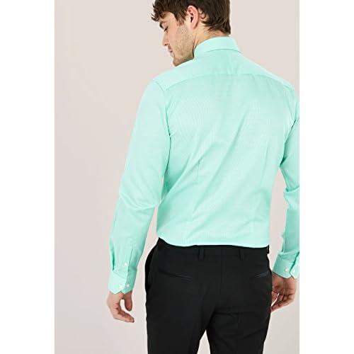 f2f0b2d06f70 Delicado next Hombre Camisa con Textura De La Marca - www.haishop.top