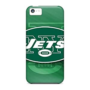 Iphone 5c ZKr3234OrAV Unique Design Nice New York Jets Skin Protective Hard Phone Cover -DannyLCHEUNG