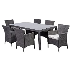 4103xEB6kFL._SS300_ Wicker Dining Tables & Wicker Patio Dining Sets
