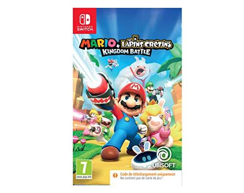 Mario + The Lapins Crétins Kingdom Battle Code In Box - Nintendo Switch [Importación francesa]