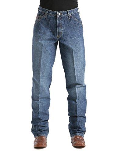 Cinch Apparel Mens Blue Label Carpenter Medium Stonewashed Jeans 35x34 Vintage