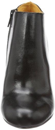 Buffalo London 111-8510 SILK LEATHER - Botas clásicas de cuero mujer negro - Schwarz (BLACK 01)