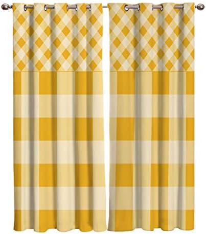 SODIKA Polyester Curtain Window Treatment/Decor Panel Grommet Drapes Draperies