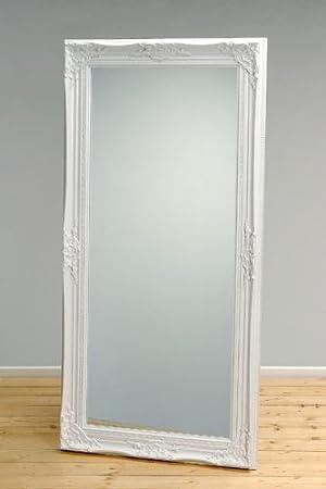 Hochwertiger Spiegel Weiss Barock Wandspiegel 120x60cm Amazonde
