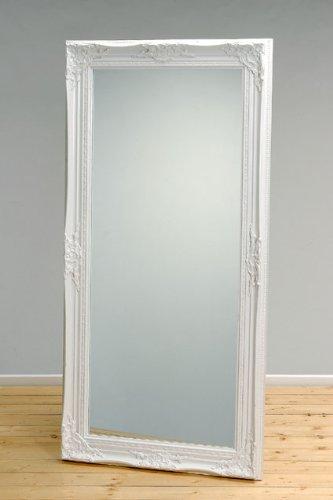 großer spiegel weiß
