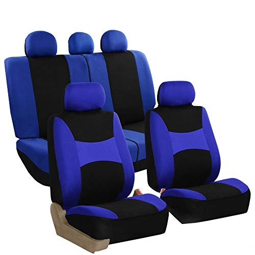 Gta V Halloween Update (FH Group FB030BLUEBLACK115 full seat cover (Side Airbag Compatible with Split Bench)