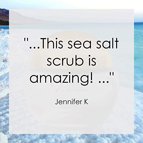 Premier Dead Sea Aromatic Salt Scrub, body scrub, bath salts infused with essential oils, jojoba oil, vitamin e oil…