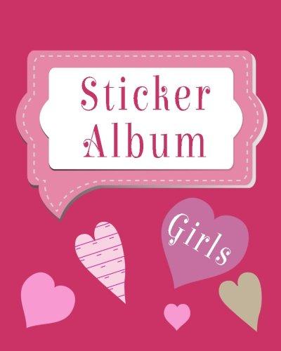 Sticker Album Girls: Blank Permanent Sticker Book