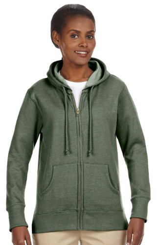 Econscious EC4580 Ladies Hood Fleece - Military Green - 2XL EC4580
