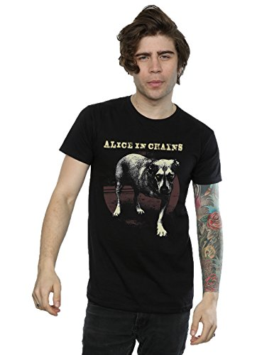 Alice In Chains Men's Three Legged Dog T-Shirt XXX-Large Black