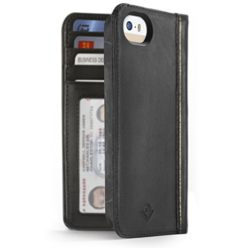 twelve-south-bookbook-for-iphone-se-5s-classic-black-vintage-leather-iphone-book-case-and-wallet
