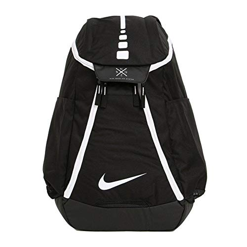 NIKE HOOPS ELITE MAX AIR TEAM 2.0 BACKPACK BASKETBALL BLACK WHITE CK0918-010