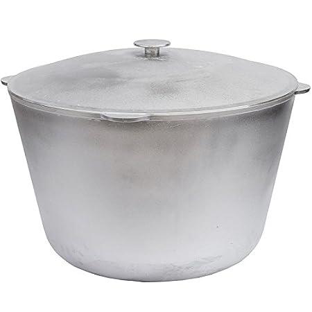 Amazon.com: Wok Kazan de aluminio para hacer horno holandés ...