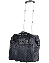 Nicole Miller New York Montana Collection Wheeled Cabin Tote