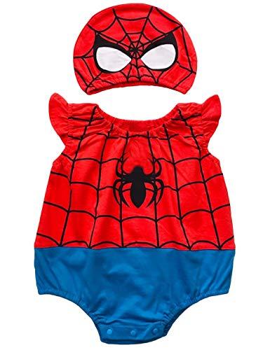Superheroes Costumes For Babies - YuDanae Baby Cotton Superhero Funny Romper