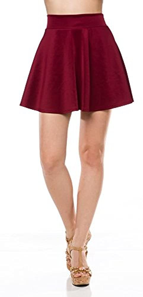 41e4985d045 Perfect For Formal events as well as casual daily wear. Thick and Comfort  Elastic Waist Band. Great Skater Skirt. 90%Polyester  10%Spandex.