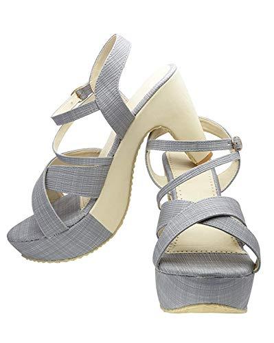 Monaqi Women's Comfortable Chunky high Heels Office Party Dress Sandal Classic Pumps Wedding Shoes