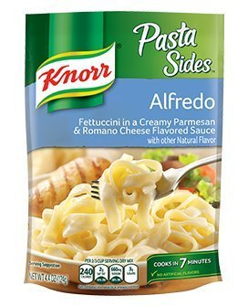 Knorr, Pasta Sides, 4.4oz Pouch (Pack of 6) (Choose Flavors Below) ()