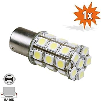 Faros traseros LED 6 V 12 V BA15D 15/15 W Bilux 21/5 W BA15D, bombilla, faro, lámpara Bilux: Amazon.es: Coche y moto