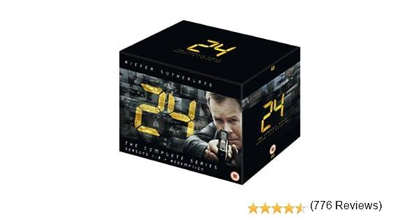 24 - Season 1-8 55 Dvd Edicoón Reino Unido Reino Unido: Amazon.es: Kiefer Sutherland, Kiefer Sutherland: Cine y Series TV
