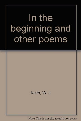 In the beginning and other poems (The St. Thomas poetry series)