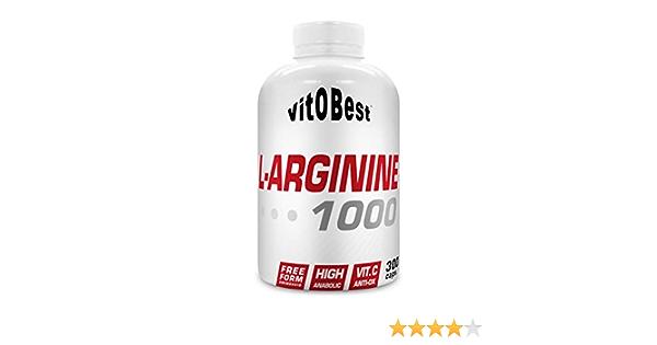 L-ARGININE 1000-300 Caps. - Suplementos Alimentación y Suplementos Deportivos - Vitobest
