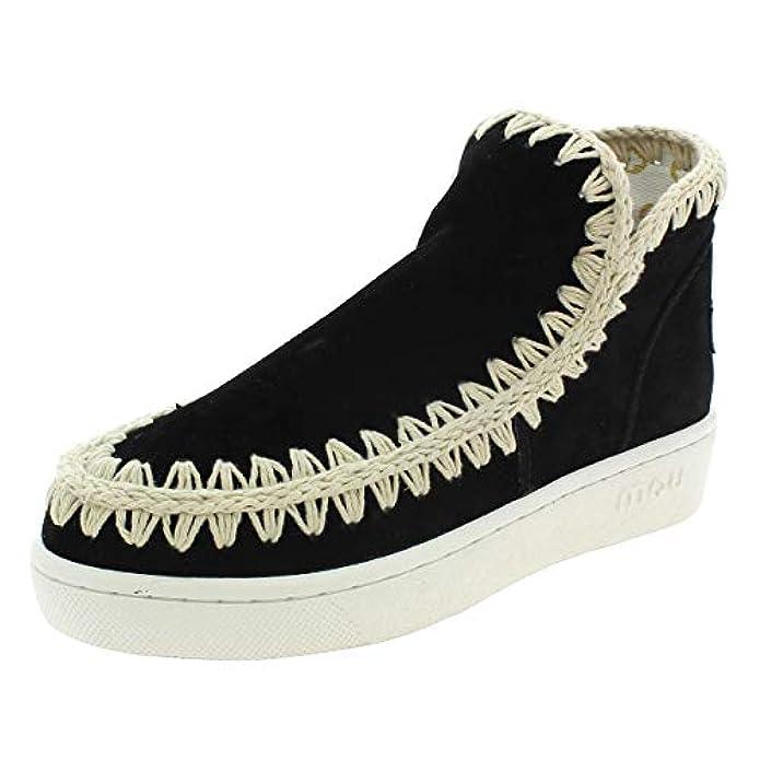 Summer Eskimo Sneaker Stivaletti Donna Neri Eskimosummerbkwh Nero 36 Eu