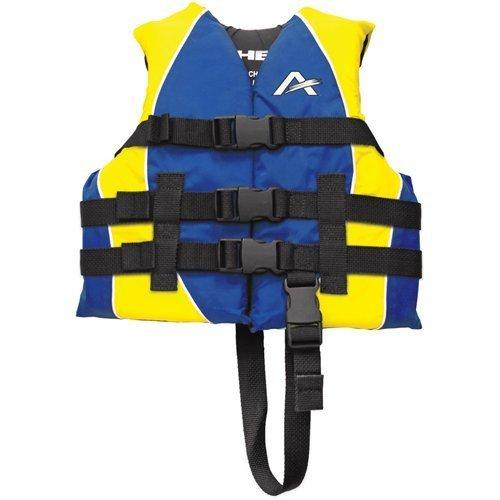 【年間ランキング6年連続受賞】 AIRHEAD Youth B06XFTB713 Closed Side Nylon Youth PFD Nylon Vest Blue/Yellow [並行輸入品] B06XFTB713, 楽市きもの館:6a76743b --- a0267596.xsph.ru