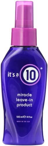 It's A 10 Miracle Leave In Product, 4-Ounces