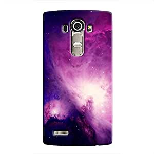 Cover it up Purple Nebula Hard Case for LG G4 - Multi Color