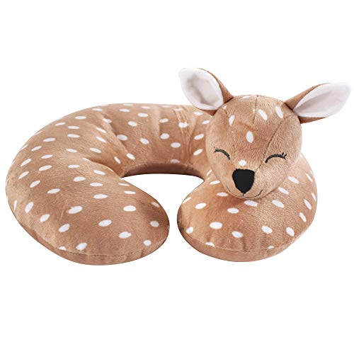 Hudson Baby Travel Neck Support Pillow, Fawn, One Size