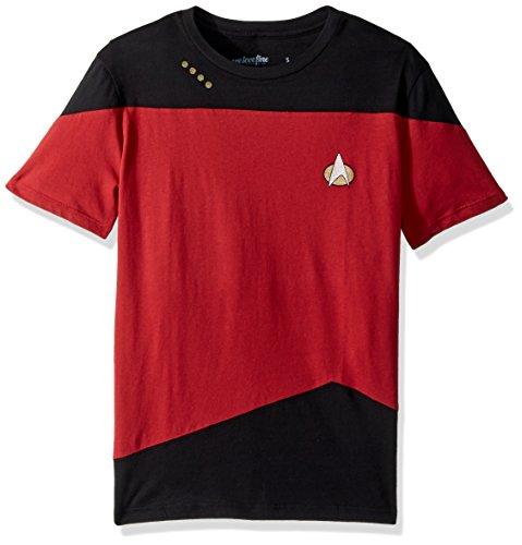 Uniform -- Star Trek: The Next Generation T-Shirt, XX-Large (Star Trek Generations Uniform)