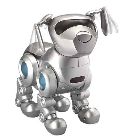 Amazoncom Tekno The Robotic Puppy Silver Toys Games