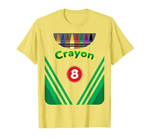 Kids Crayon Costume Crayon Box Halloween Costume shirt]()