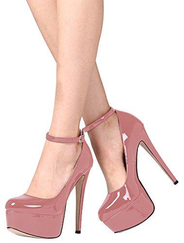 Guoar , fermé femme - rose - Rosa - rosa, 36 EU