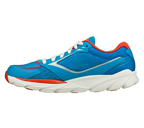 Skechers Femmes Gorun Ride 3 Houston Bleu / Rouge