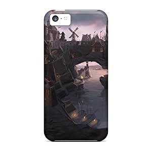 New Premium OdAcu14950qIOiH Case Cover For Iphone 5c/ The Elder Scrolls V Skyrim Protective Case Cover