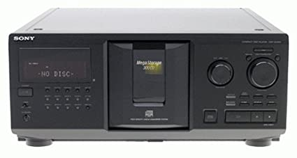 amazon com sony cdp cx300 megastorage 300 cd changer discontinued rh amazon com Repair Sony CDP CX355 Sony 500 Disc Changer
