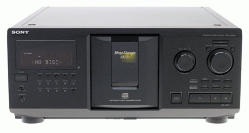 amazon com sony cdp cx300 megastorage 300 cd changer discontinued rh amazon com sony 300 cd player manual download Sony CDP-CX355 300 Disc MegaStorage CD Changer
