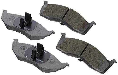 ACDelco 14D730ACH Advantage Ceramic Front Disc Brake Pad Set Ceramic Dodge Neon Brake Pad