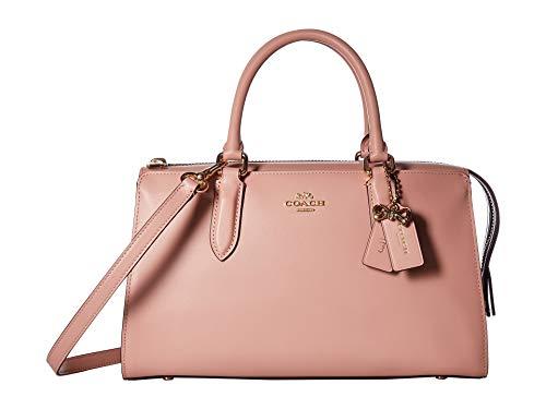 (COACH Women's Refined Calf Leather Selena Bond Bag Gold/Peony One Size)