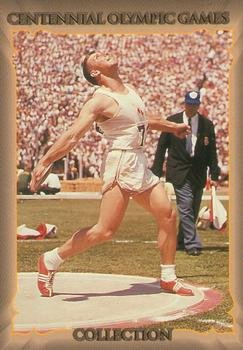 Al Oerter Trading Card (Discus Champion) 1996 Collect-A-Card Centennial Olympic Games #28