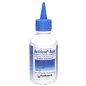 Activated Charcoal Liquid 25 Gm Bottle
